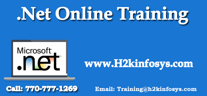 .Net Online Training with Placement Assistance
