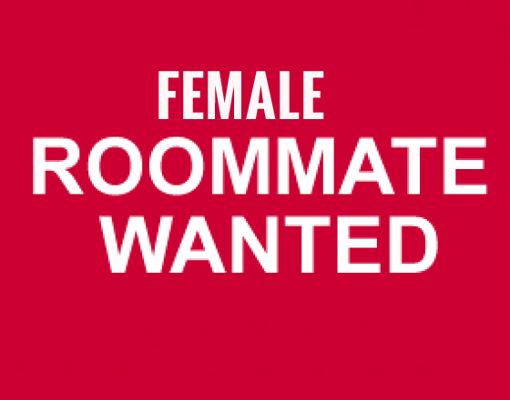 Looking for female Roommate only